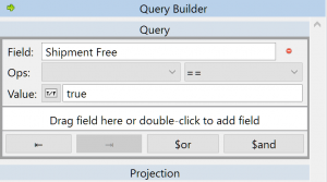 The Visual Query Builder helps you build even the most complex query